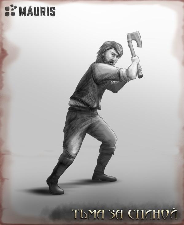 Тьма за спиной: 5 артов главного героя в действии
