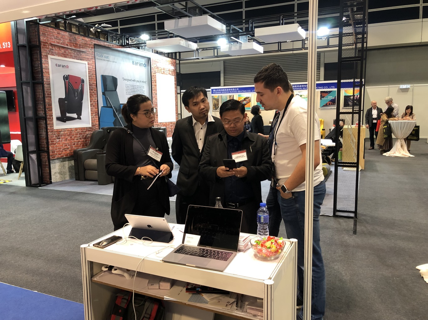 Participation in the exhibition CineAsia 2018